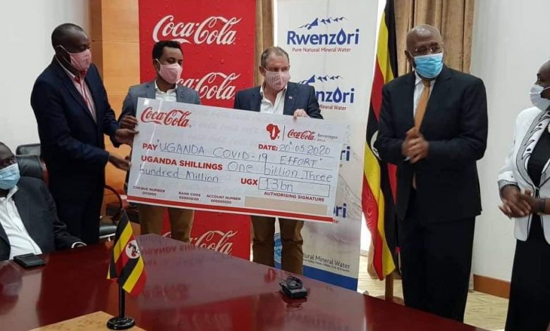 Photo of Coca-Cola Beverages Africa  Contributes UGX1.3bn to COVID-19 Task Force
